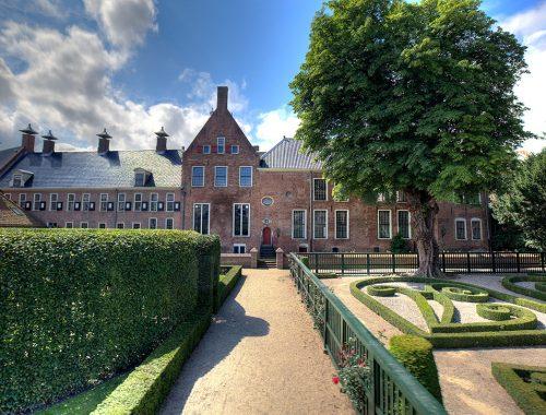 Prinsenhof Groningen - Uitzicht op de tuin
